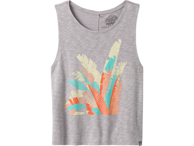 Prana Chez Tank Top Damen grey palms